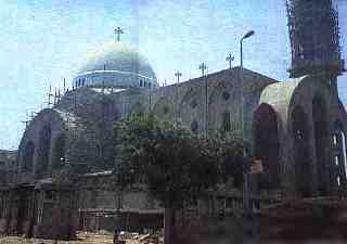 The New Cathedral Of The Virgin Mary At Zeitoun