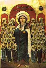 Icon of Saint Demiana the Martyr